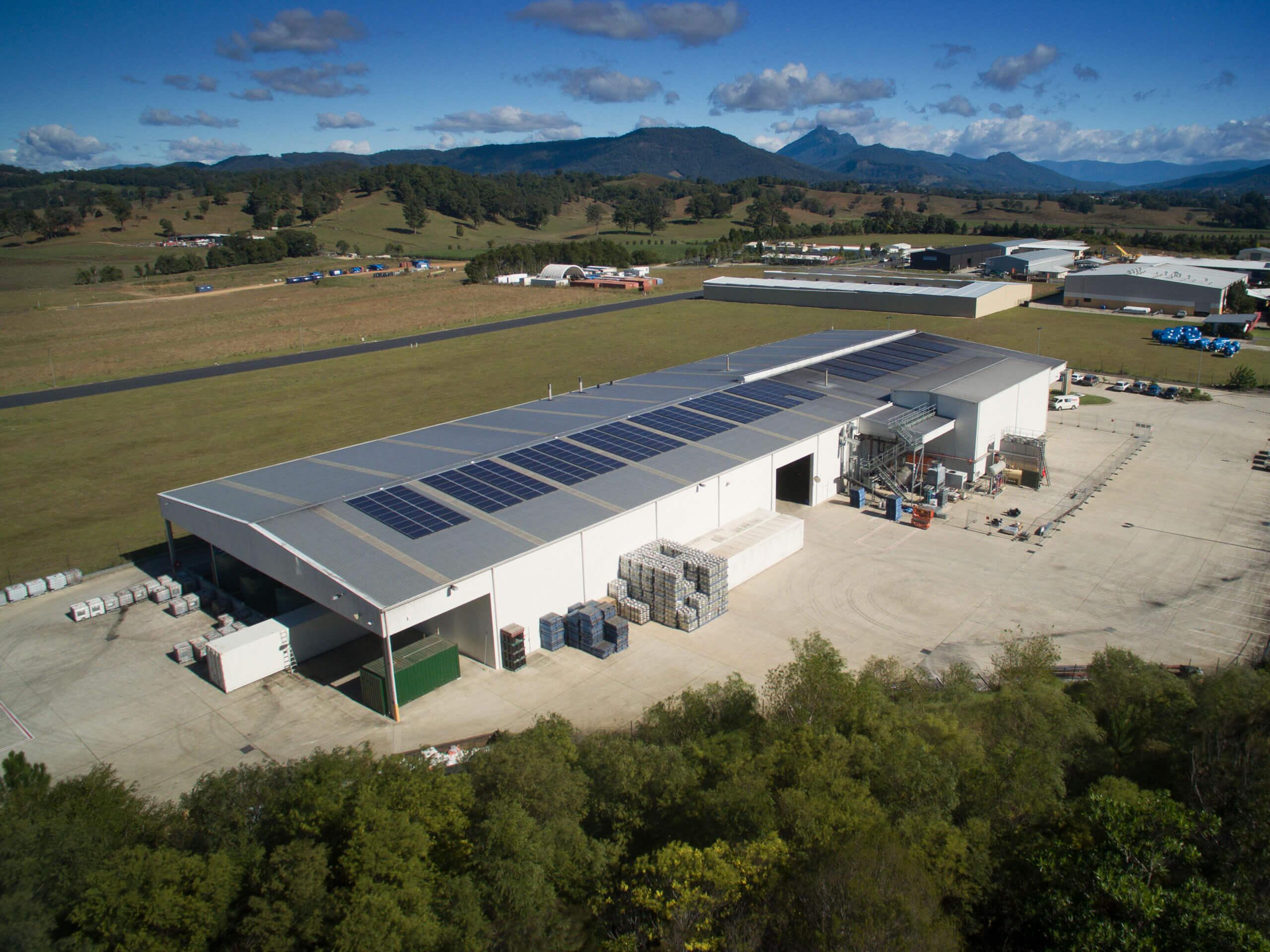 Stone Amp Wood Brewery Enertech Solar